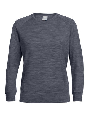 Womens Merino Zoya Long Sleeve Crewe Sweatshirt A cozy sweatshirt for laidback days, the Zoya Long Sleeve Crewe is made with a super-soft blend of merino wool, with a nylon core for added strength and a touch of LYCRA® for active stretch.