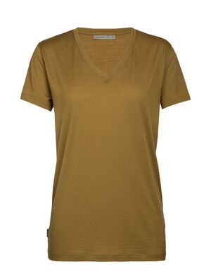 Womens Merino Ravyn Short Sleeve V Neck T-Shirt  A classic V-neck T-shirt for everyday comfort and style, the Ravyn Short Sleeve V harnesses the natural benefits of merino wool, with enhanced durability from corespun fibers.