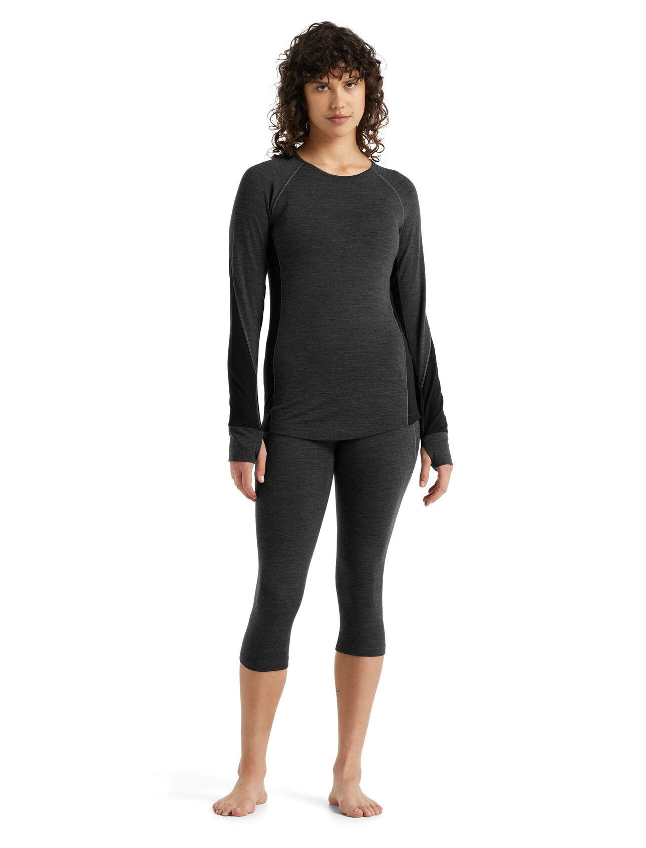 Haut col rond et legging 3/4 260 Zone Femme