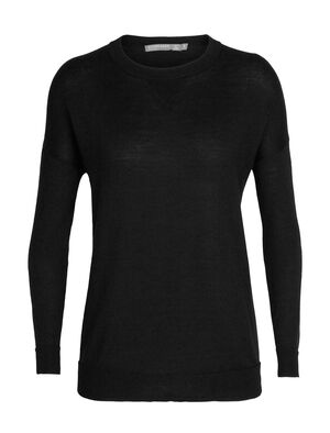 Womens Cool-Lite™ Merino Nova Sweater Sweatshirt A lightweight, everyday women's sweater featuring a relaxed fit and our cool-lite™ merino wool blend, the Nova Sweater Sweatshirt combines a classic look with breathable, ultra-soft performance.