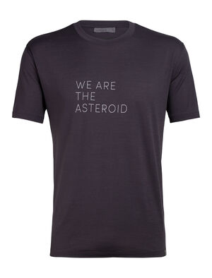 Nature Dye Merino Tech Lite Short Sleeve Crewe T-Shirt Asteroid English