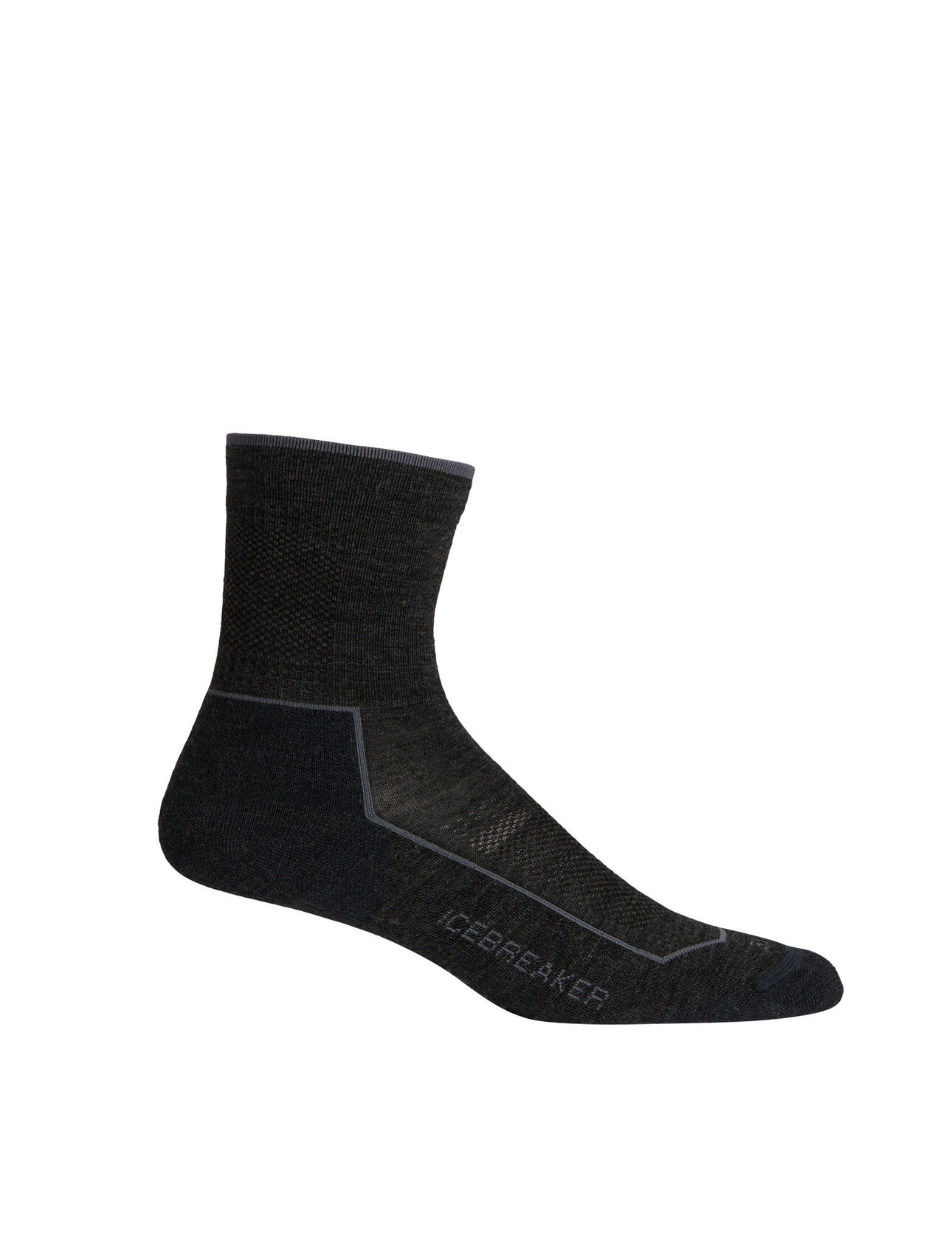 Cool-Lite™美丽诺羊毛低中筒徒步袜