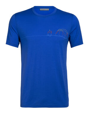 Tech Lite Short Sleeve Crewe Single Line Camp