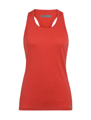 Womens Cool-Lite™ Amplify Racerback Tank An ultralight women's merino wool tank top for training in warm to hot conditions, the Amplify Racerback Tank provides soft comfort with unparalleled ventilation.
