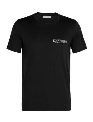 T-shirt manches courtes col rond mérinos Tech Lite Nature
