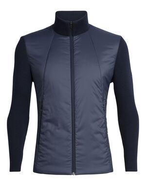 男款 Lumista Hybrid针织夹克 Lumista Hybrid针织夹克结合舒适有型与核心部位保暖的特性,既适合日常穿着,又是高强度山间活动的必备基础单品。