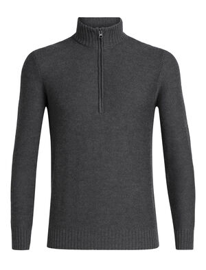 Mens Waypoint Long Sleeve Half Zip Made with 100% merino wool, the Waypoint Long Sleeve Half Zip is a breathable, comfortable and warm men's merino sweater designed for casual winter warmth.
