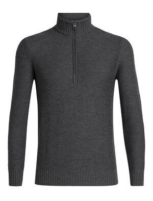 男款 Waypoint长袖半拉链上衣 选用100%美丽诺羊毛制成的Waypoint长袖半拉链上衣,透气、舒适、保暖,是专为冬季保暖打造的男款休闲美丽诺羊毛针织衫。