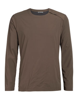 Mens Cool-Lite™ Venturous Long Sleeve Pullover Combining versatile comfort and everyday style, the Venturous Long Sleeve Pullover is an insulated men's merino wool sweatshirt for lightweight warmth in cool weather.