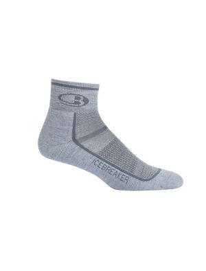 男款 美丽诺羊毛Multisport轻薄低筒袜 作为一款用途广泛、高度透气的男款美丽诺羊毛袜,Multisport轻薄低筒袜实现出色的耐穿和吸湿排汗性能,专为跑步、骑自行车和徒步等运动时穿着设计。
