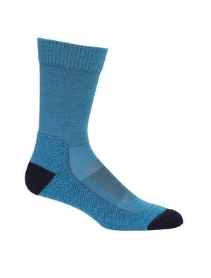 男款 Merino Hike+ Light Crew Socks Hike+轻薄中筒徒步袜适合在日间徒步和温暖的环境中穿着,这款轻盈耐穿且防臭的徒步袜令您畅享舒适及出色贴合。