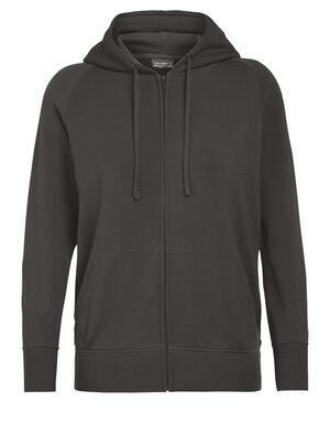 Nature Dye Merino Helliers Long Sleeve Zip Hood Sweater
