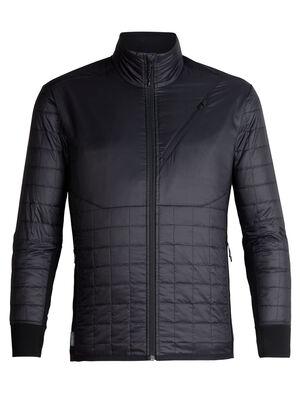 男款 MerinoLOFT™ Helix长袖拉链外套 男款Helix长袖拉链外套将环保型面料和先进的技术设计相结合,是一款适合在冷天进行高强度运动时穿着的中层衣,比如滑雪、登山、雪地健行或远足。正身部分采用MerinoLOFT™保暖技术,温暖透气,是合成保暖衣的天然替代品。100%再生涤纶布面,配以DWR持久防水,可防小雨。侧面拼接料选用富有弹性的美丽诺羊毛平纹针织面料,帮助运动时调节身体温度。100%美丽诺羊毛梭织衬里确保温暖舒适。插手口袋和胸兜带拉链,方便放入小件随身物品,比如唇膏、零食和手机。