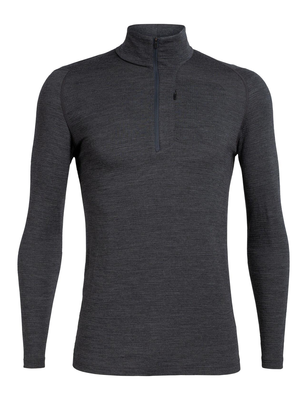Merino Spring Ridge Long Sleeve Half Zip