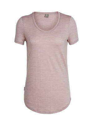 Womens Cool-Lite™ Solace Short Sleeve Scoop A relaxed-fit tee for laid-back, everyday style, the Solace Short Sleeve Scoop is the essence of comfort. Made from our ultra-lightweight 130gm jersey Cool-Lite™ fabric, it's a silky-soft blend of merino and natural TENCEL® to keep you feeling great, all-year-round.