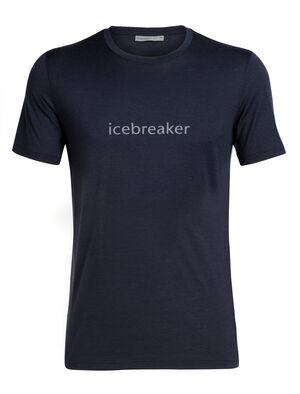 Merino Tech Lite Short Sleeve Crewe T-Shirt icebreaker Wordmark