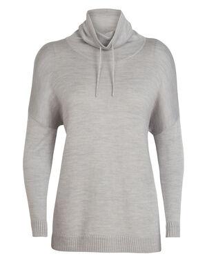 女款 Cool-Lite™美丽诺羊毛Nova套头针织衫 Nova套头针织衫是一款以美丽诺羊毛制成的女款垂褶领针织衫,透气、防臭,带来非凡舒适的穿着感。