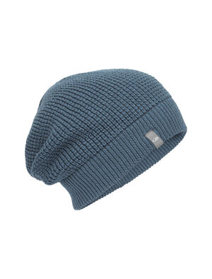 Unisex Merino Feadan Slouch Beanie  Combining a modern, relaxed fit with a sustainable blend of merino wool and organic cotton, the Feadan Slouch Beanie has comfort and style inspired by nature.
