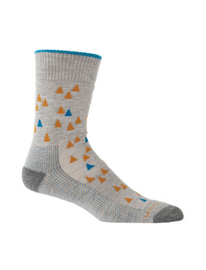 Mens Merino Hike Medium Crew Socks Tree Line Lightweight, durable and odor-resistant trail socks designed for maximum comfort and premium fit, our Hike Medium Crew Tree Line socks are ideal for rugged day hikes and year-round conditions.