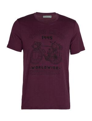 Merino Tech Lite Short Sleeve Crewe T-Shirt Tour Club 1995