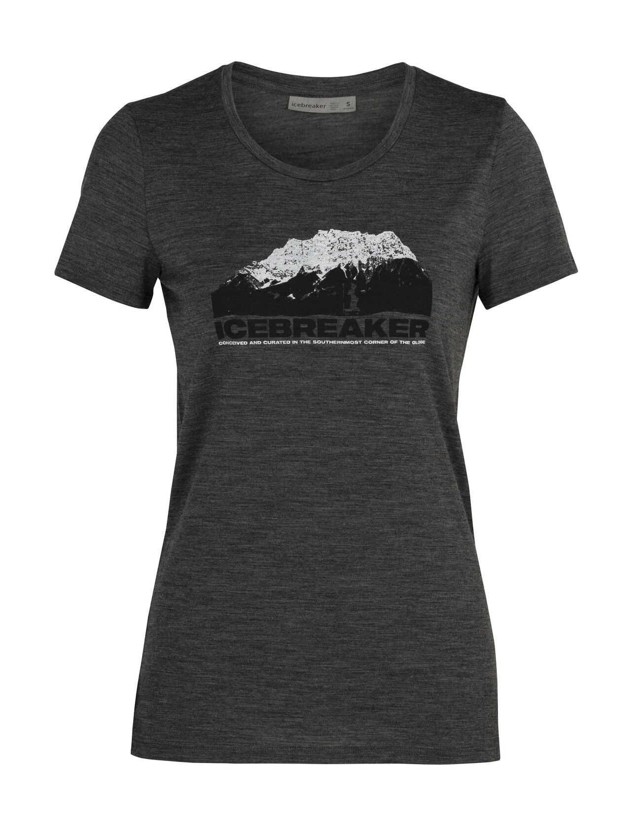 Merino Tech Lite Short Sleeve Low Crewe T-Shirt Icebreaker Mountain