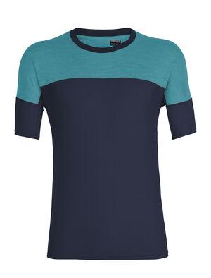 男款 Cool-Lite™ Kinetica短袖圆领上衣 Kinetica短袖圆领上衣由柔软耐穿的Cool-Lite™美丽诺羊毛混纺面料制成,背部采用透气的网眼设计,是一款性能出众的T恤。