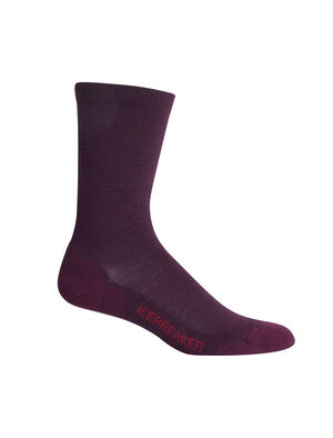 Womens Merino Lifestyle Light Crew Socks Lightweight, soft, and breathable for everyday comfort, the Lifestyle Light Crew socks are made with a stretchy and luxurious merino wool blend, with reinforced heels and toes.