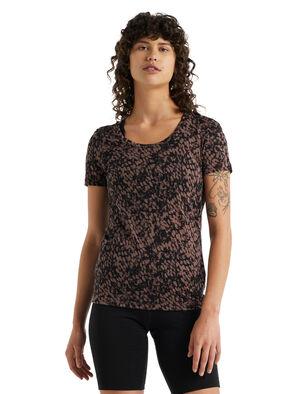 Merino Tech Lite II T-Shirt mit U-Ausschnitt Forest Shadows