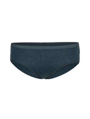 Womens Merino Siren Hipkini Briefs An ultra-comfy underwear bottom for everyday wear, the Siren Hipkini features ultra-lightweight corespun merino blend fabric that's durable, stretchy and incredibly soft.