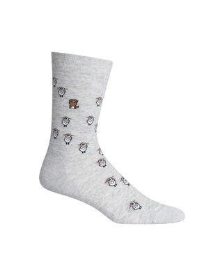 男女通用 休闲系列细针中筒袜(Sheep Herding) 休闲系列细针中筒袜(Sheep Herding)是一款轻盈的休闲袜,采用优质美丽诺羊毛面料,将舒适穿着感与耐穿设计相结合,是日常穿着的理想选择。