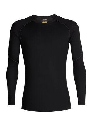 男款 BodyFitZone™ 150 Zone长袖圆领上衣 150 Zone长袖圆领上衣以150克平纹针织包芯面料制成,加入LYCRA®莱卡增添灵活度,是一款适合探险运动和日常训练的轻盈打底层选择。
