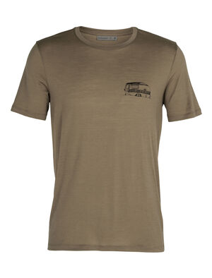 Merino Tech Lite Short Sleeve Crewe T-Shirt Caravan Life
