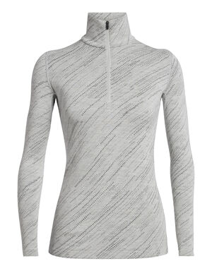 Womens 250 Vertex Long Sleeve Half Zip Snow Storm A versatile top for cold conditions, the 250 Vertex Long Sleeve Half Zip Snow Storm in 100% merino wool is naturally high-performing as a warm mid layer or heavyweight base layer.