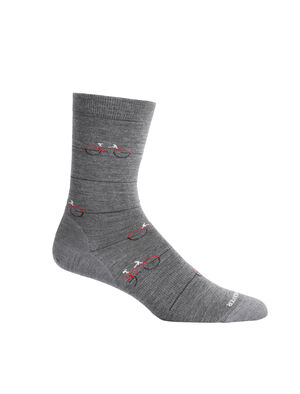 Unisex Lifestyle Fine Gauge Crew Cadence Lightweight casual socks perfect for everyday use, the Lifestyle Fine Gauge Crew Cadence combines premium merino wool comfort with a durable construction.