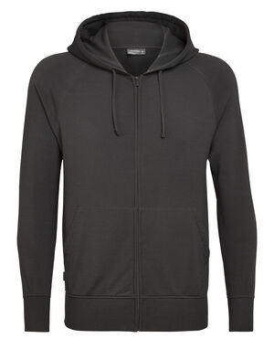 Mens Nature Dye Merino Helliers Long Sleeve Zip Hood Jacket A classic daily hooded sweatshirt made with our merino wool RealFleece™ fabric, the Nature Dye Helliers Long Sleeve Zip Hood is dyed with natural plant pigments.