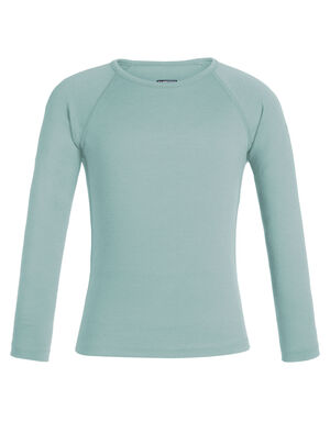 Kids Merino 200 Oasis Long Sleeve Crewe Thermal Top Perfect for cold-weather warmth or everyday layering, the 200 Oasis Long Sleeve Crewe is made with naturally soft and breathable 100% merino wool.