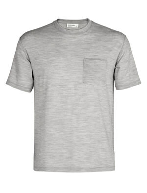 Mens Merino 150 Short Sleeve Pocket Crewe T-Shirt A classic and indispensable pocket tee made even better with the natural benefits of merino wool, the 150 Short Sleeve Pocket Crewe is an everyday wardrobe essential.