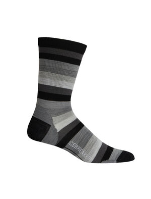 Merino Lifestyle Ultralight Crew Stripe Socks