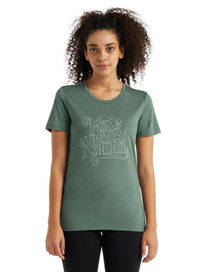Tech Lite II T-shirt Move to Natural met korte mouwen van merinowol