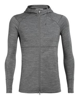 男款 Quantum II Long Sleeve Zip Hood Quantum II长袖帽衫是一款蕴含先进技术的男款美丽诺羊毛中层上衣,专为冷天进行高山活动而设计,是探险运动中穿着的理想单品。