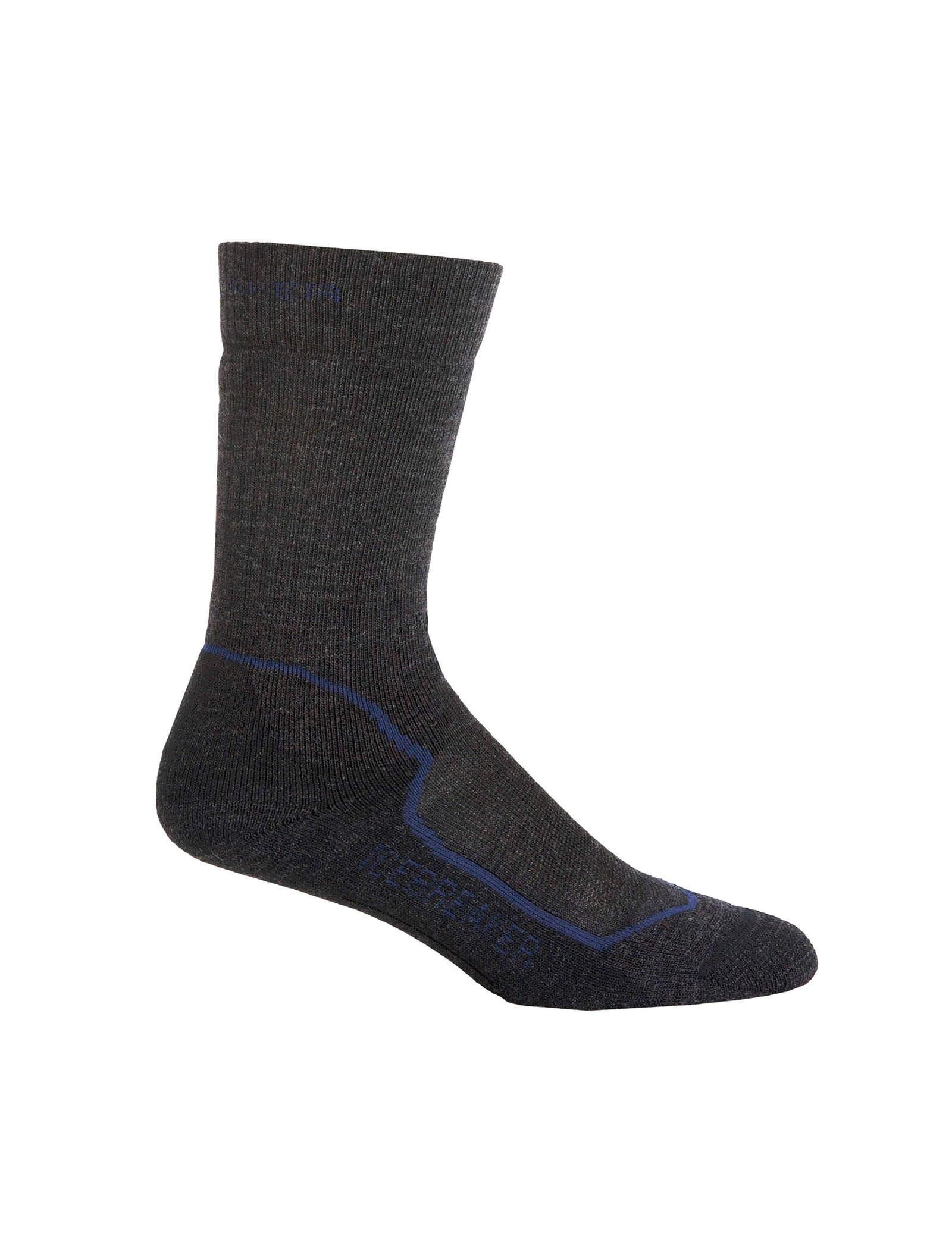 Icebreaker Merino Hiking Medium Crew Socks New Zealand Merino Wool