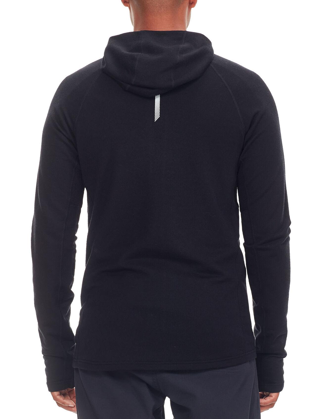 Quantum Long Sleeve Zip Hood - Icebreaker (US) 2483ce732a
