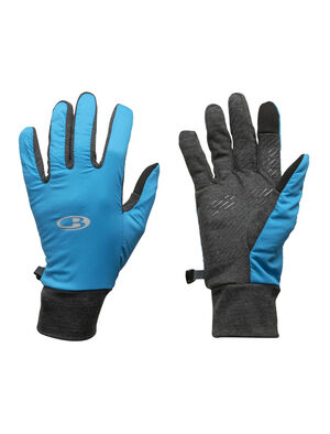 Unisex Merino Tech Trainer Hybrid Gloves  Highly breathable gloves with a zone construction ideal for high-output pursuits, the Tech Trainer Hybrid Gloves combine stretchy Cool-Lite™ merino jersey with a protective woven overlay and touchscreen compatible fingertips.