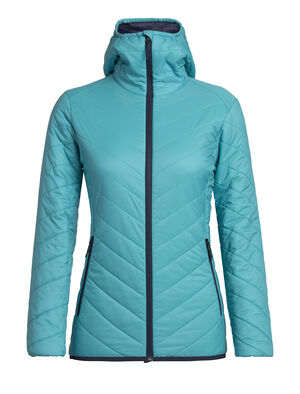 Womens MerinoLOFT™ Hyperia Hooded Jacket A toasty and technical hooded jacket designed for climbing, skiing and other mountain adventures where you need both warmth and lightweight packability, the Hyperia Hooded Jacket is an alpine essential with a flattering feminine fit.