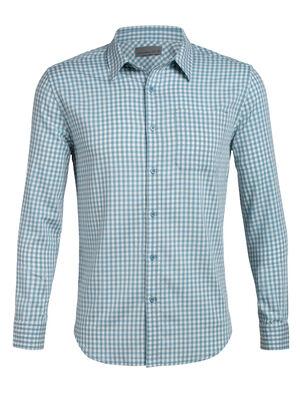 Cool-Lite™ Merino Compass Flannel Long Sleeve Shirt