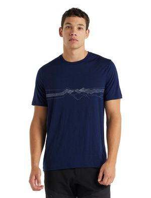 Merino Tech Lite II T-Shirt Peak Patterns