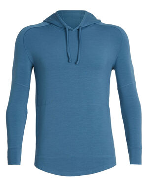 Mens Cool-Lite™ Momentum Long Sleeve Hood A comfortable, breathable and stylish men's merino wool travel hoody made with our Cool-Lite fabric, the Momentum Long Sleeve Hood is a classic hooded sweatshirt.