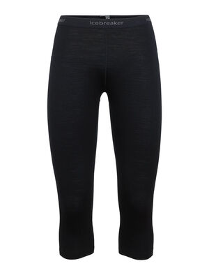 Womens Merino 200 Oasis 3/4 Thermal Leggings Our best-selling base layer bottoms made from soft and breathable 100% merino wool jersey, the 200 Oasis Legless feature a short leg for use with boots.