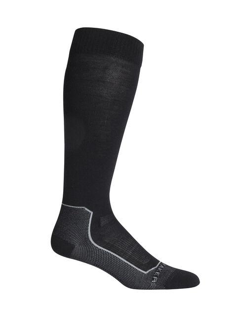 Ski+超薄及膝滑雪袜