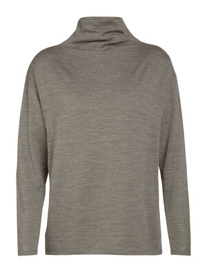 Merino Deice Long Sleeve Turtleneck Sweater